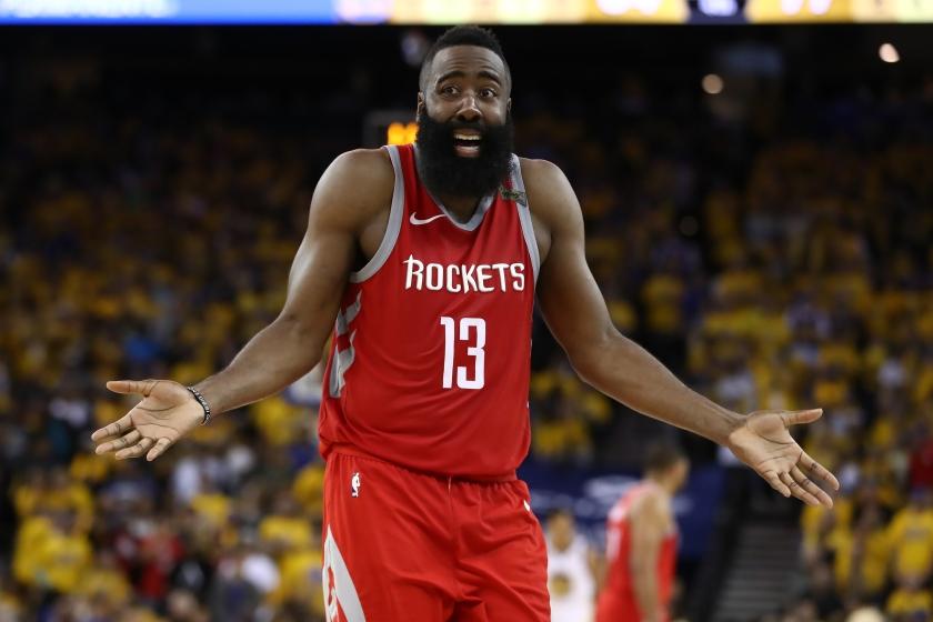 Harden Rockets trade